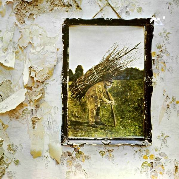 Great Album Covers - Led Zeppelin IV by Led Zeppelin in 1971