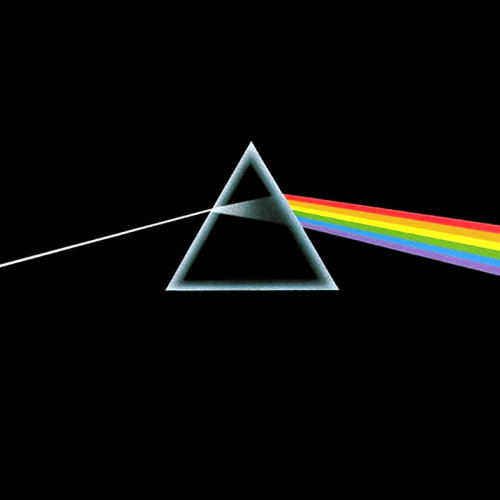 The Dark Side of the Moon  Record Album Cover  -  Pink Floyd