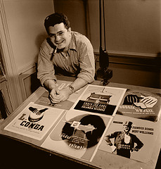 Great Album Covers - Alex Steinweiss - First Album Cover Designer and Father of the Record Album Cover