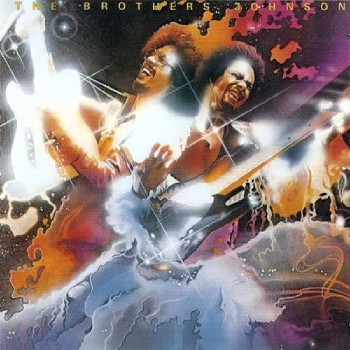 Brothers Johnson - Blam!!   Album Cover by Glen Wexler