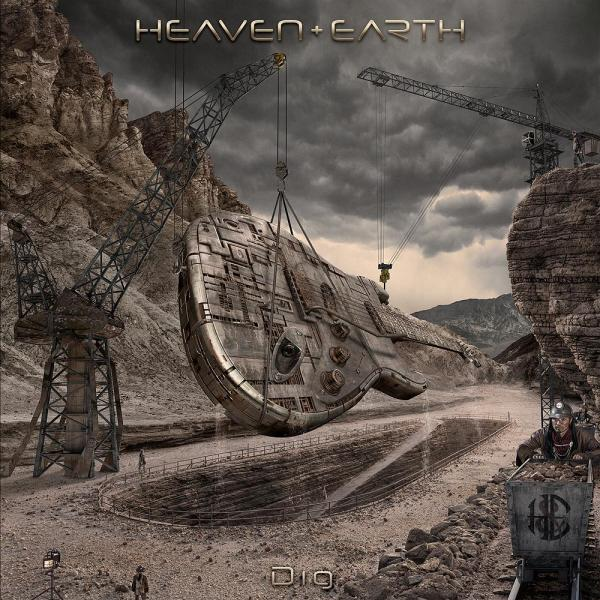 Heaven & Earth Dig album cover by Glen Wexler