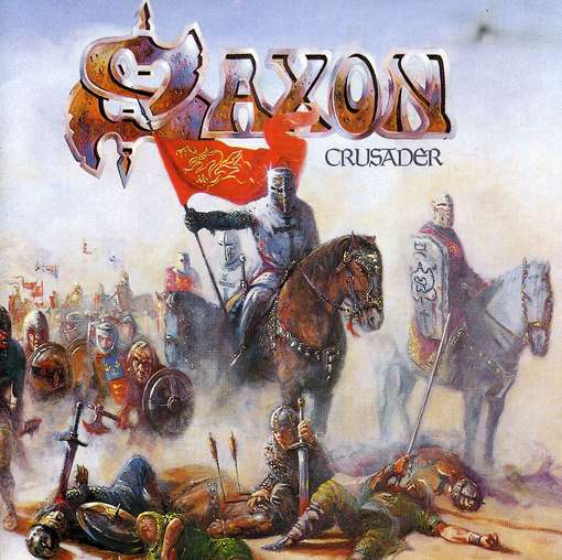 saxon-crusader  album cover by Paul Raymond Gregory