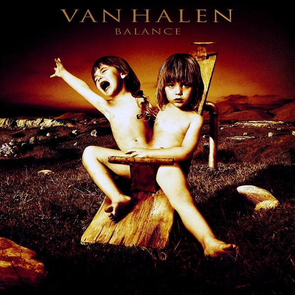 Van Halen Balance  album cover by Glen Wexler Rock and Roll Beat Album Covers of all time  Famous album cover designers Great Album Covers Greatest Album Covers of all time
