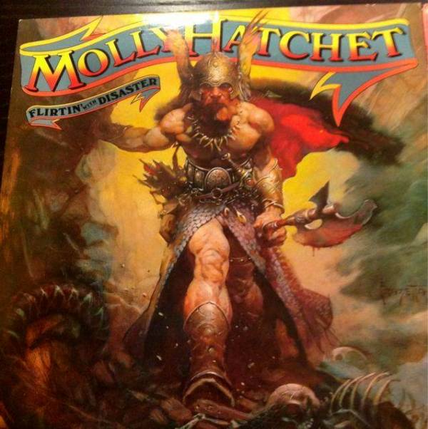 Great Album Covers  Record Album Flirtin With Disaster by  Molly Hatchet in 1979 - album 2