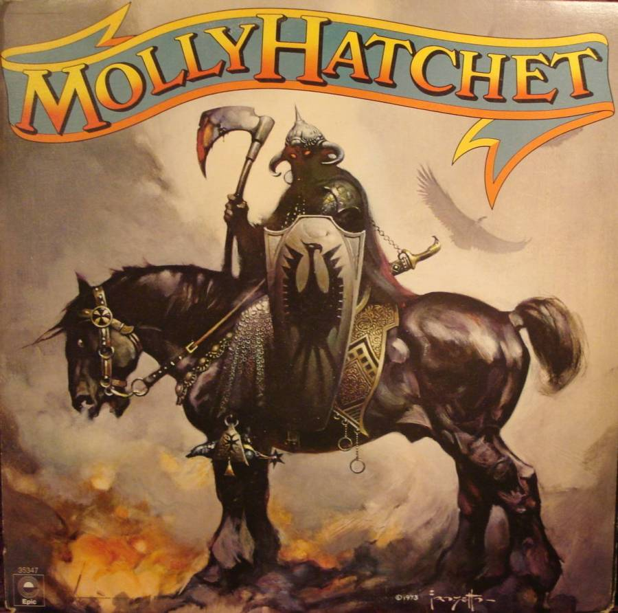 Molly Hatchet - 1978 - Cover Art by Frank Frazetta