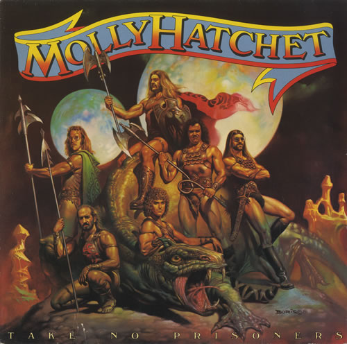 Take-No-Prisoners - Molly Hatchet  - 1981 - record album cover