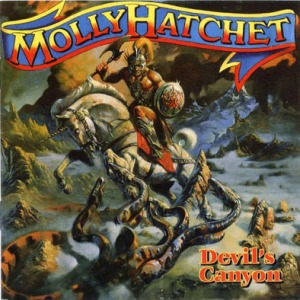 Devils Canyon - Molly Hatchet's Eighth Album - 1996 - Album Cover Art by Paul Raymond Gregory