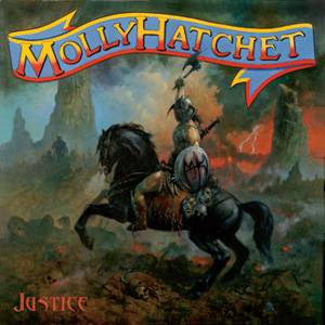 Justice - Molly Hatchet's Twelfth Album 2010 Album Cover Art by Paul Raymond Gregory