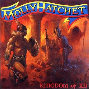 Kingdom Of XII - Molly Hatchet's Album Ten 2001 - Album Cover Art by Paul Raymond Gregory