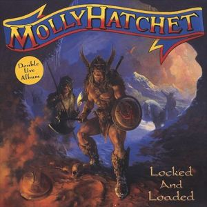 Locked and Loaded Molly Hatchet's Double Live Album 2003 Album Cover Art by Paul Raymond Gregory