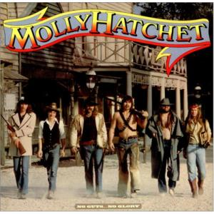 No Guts No Glory Molly Hatchet's Fifth Album - 1983 Photo by Bob Seidemann