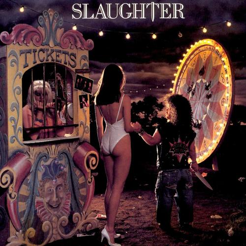 great album covers slaughter stick it live album cover by glen wexler   sideshow freaks