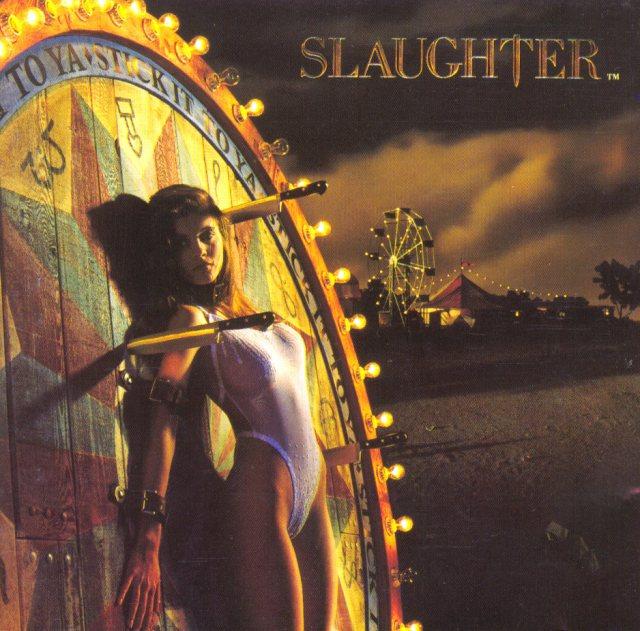 great album covers slaughter stick it to ya album cover  Glen Wexler