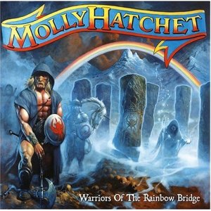 Warriors of the Rainbow Bridge - Molly Hatchet's Eleventh Album 1998 Album Cover Art by Paul Raymond Gregory