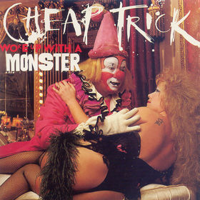 Great Album Covers - Album Cover Collecting - Cheap Trick's Wake Up With A Monster