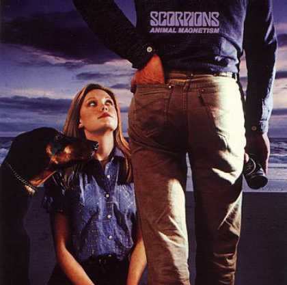 Great Album Covers Animal Magnetism Scorpions