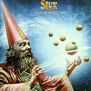 Record Album Cover   Man of Miracles   Styx