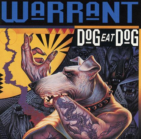 Great Album Covers Dog Eat Dog  Warrant