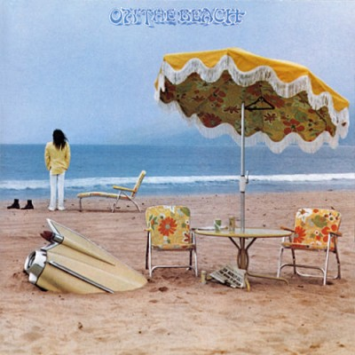 great album covers - On the Beach - Neil Young  Gary Burden